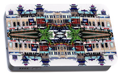 Portable Battery Charger featuring the photograph Chinatown Chicago 2 by Marianne Dow