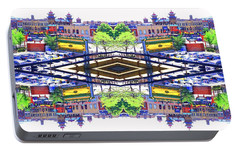Portable Battery Charger featuring the photograph Chinatown Chicago 3 by Marianne Dow