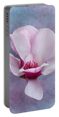 Chinese Magnolia Flower With Bud Portable Battery Charger