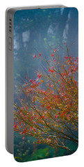 Chinese Red Maple Leaf Tree Portable Battery Charger