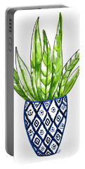Chinoiserie Cactus No2 Portable Battery Charger