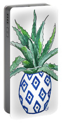 Chinoiserie Cactus Portable Battery Charger