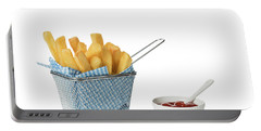 Chips With Tomato Sauce Portable Battery Charger