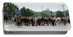Chisholm Trail Cattle Drive 2007 Portable Battery Charger