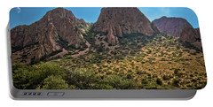 Chisos Mountain Range Portable Battery Charger