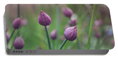 Chives Portable Battery Charger by Lyn Randle