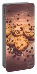 Choc Chip Biscuits Portable Battery Charger