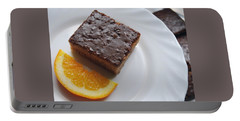 Chocolate And Orange Portable Battery Charger