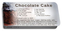 Chocolate Cake Recipe Portable Battery Charger