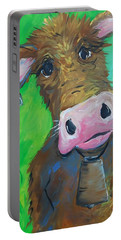 Chocolate Milk Portable Battery Charger by Terri Einer