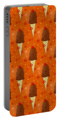 Chocolate Scoops Pattern Portable Battery Charger