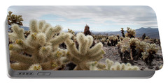 Cholla Cactus Garden Landscape II Portable Battery Charger