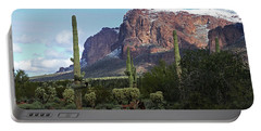 Cholla  Saguaro Superstition Mountain Portable Battery Charger by Tom Janca