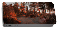 Choose The Road Less Travelled Portable Battery Charger
