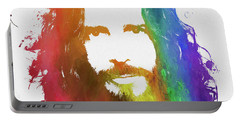 Chris Cornell Color Tribute Portable Battery Charger