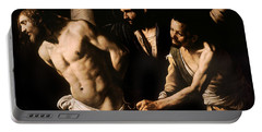 Christ At The Column Portable Battery Charger