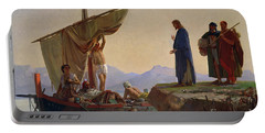 Christ Calling The Apostles James And John Portable Battery Charger