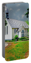 Portable Battery Charger featuring the photograph Christ Church by Rod Wiens
