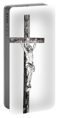 Christ On Cross Portable Battery Charger