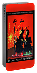 Christian Pilgrims In Converse Portable Battery Charger