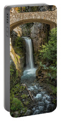 Portable Battery Charger featuring the photograph Christine Falls by Belinda Greb