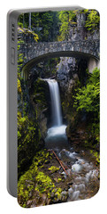 Christine Falls - Mount Rainer National Park Portable Battery Charger