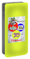 Christmas 2 Portable Battery Charger