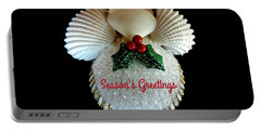 Christmas Angel Greeting Portable Battery Charger