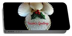 Christmas Angel Greeting Portable Battery Charger