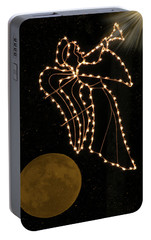 Portable Battery Charger featuring the photograph Christmas Angel by Rosalie Scanlon