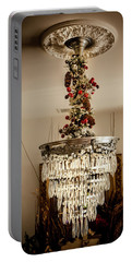 Christmas Antique Chandelier Portable Battery Charger