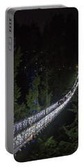 Christmas At Capilano Suspension Bridge Portable Battery Charger