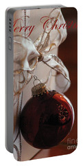 Christmas Ball And Bow Portable Battery Charger