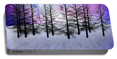 Christmas Bare Trees Portable Battery Charger