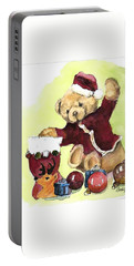 Christmas Bear Portable Battery Charger