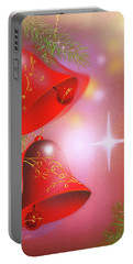 Christmas Bells Portable Battery Charger