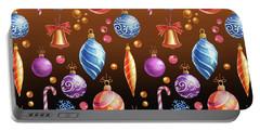 Christmas Bulbs On Auburn Portable Battery Charger