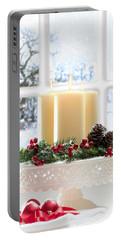 Christmas Candles Display Portable Battery Charger