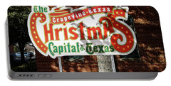 Christmas Capital Of Texas Portable Battery Charger