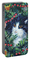 Christmas Catouflage Portable Battery Charger