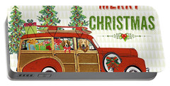 Christmas Cheer-greeting Card Portable Battery Charger