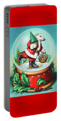Christmas Cheer Portable Battery Charger