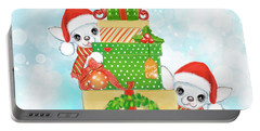 Christmas Chi Elves Portable Battery Charger