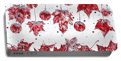 Christmas Decorations Of Nature Portable Battery Charger
