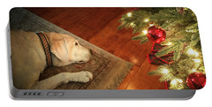 Christmas Dreams Portable Battery Charger