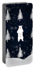 Christmas Eve - White Bear Portable Battery Charger