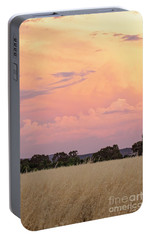 Portable Battery Charger featuring the photograph Christmas Eve In Australia by Linda Lees