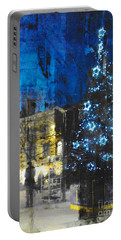 Christmas Eve Portable Battery Charger by LemonArt Photography