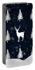 Christmas Eve - White Stag Portable Battery Charger
