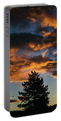 Christmas Eve Sunrise 2016 Portable Battery Charger by Jason Coward